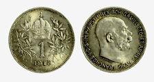 pcc2128_104)  Franz Joseph I 1 Korona 1915 AG
