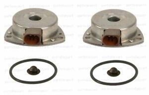 Mercedes W203 C230 03-05 Set of 2 OEM Camshaft Adjuster Magnets + Seals + Plugs
