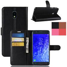 Fr Samsung Galaxy J7 Aura/Refine Card Wallet Retro Leather Flip Stand Case Cover