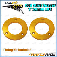"""Pair Mitsubishi Pajero NM NP NS NT 4WD Front Coil Strut Spacer 1"""" 20mm Lift Kit"""
