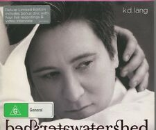 K D LANG - WATERSHED  - 2 CD's - BONUS DELUXE EDITION