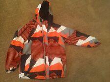 686 Youth Evolution Ski Jacket orange/black size XL Warm ski coat!