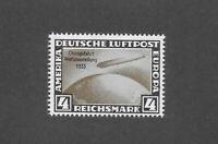 PF04 MNH stamp reprint / 1933 Graf Zeppelin Chicago Flight German Reich Luftpost