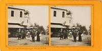 FRANCE Paris Exposition Universelle 1900 Pavillon Maroc, Photo Stereo PL60L1