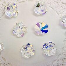 Swarovski Crystal 12mm CLOVER Bead #5752 - Crystal AB - 1 PC. PACK