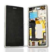 Original Display Sony Z2 D6503 + Touchscreen mit Gehäuse und Inhalt Rahmen Frame