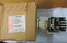 NEW NOS Cutler Hammer D60LAO Adjustable Current Relay 600VAC Max 50-400Hz