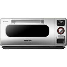 Sharp Ssc0586Ds .5 Cu Ft Countertop Superheated Steam Oven 5 Cooking Modes