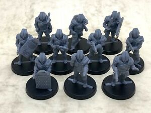 Federated Territories police force for tabletop & roleplaying games