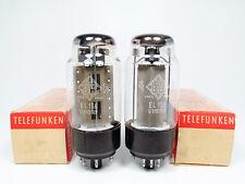 MATCHED PAIR NOS el156-Telefunken-Own Boxes-Same codes