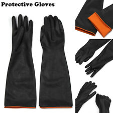 Rubber Protective Thick Latex Glove Acid And Industrial Gloves Alkali Resistance