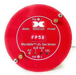 Detcon FP-524D Microsafe LEL gas Sensor IMI-356