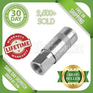 AIR LINE QUICK COUPLER 1/4' BSP FIT PCL TYPE FEMALE BAYONET CONNECTOR COUPLING