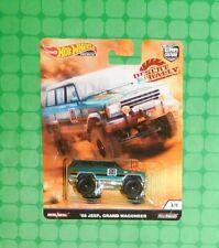 2019 Hot Wheels Premium - Car Culture - Desert Rally - '88 Jeep Grand Wagoneer