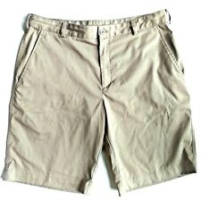 Nike Golf Men's 34 Fit Dry Tan Beige Athletic Performance Casual Shorts EUC