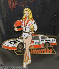 HOOTERS RESTAURANT ATLANTA MOTOR SPEEDWAY HOT NASCAR RACE GIRL GA GEORGIA PIN