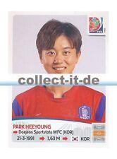 Panini Frauen WM World Cup 2015  - Sticker 357 - Park Heeyoung