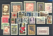 AUSTRIA 23 ST. INCL. POSTER STAMP/ BACK OF BOOK---*/(*)/0 - F/VF-@2
