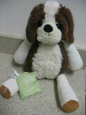 Scentsy Buddy 15'' Patches St Bernard Dog w/Scent Pak Retired Euc Stuffed Animal