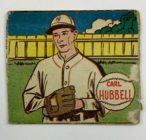 1943 R302-1 M.P. & Co Carl Hubbell OOK10