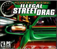 Lot of 15 Midnight Outlaw: Illegal Street Drag Jewel Case Pc Sealed Jewel Case