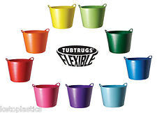 GENUINE TUB TRUG 38L FLEXI TUB BUCKET STORAGE FEED -  CHOOSE A COLOUR
