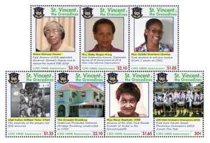 St. Vincent 2011 - SC# 3768-74 Girls High School 100th Anniv, Set of 7 Stamp MNH