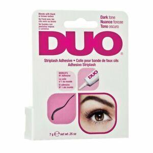 DUO Striplash Adhesive DARK TONE Blends with Black or Brown Lashes 0.25oz