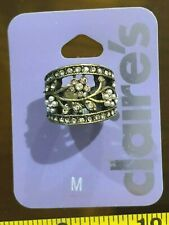 Flower Cute Jewellery Rrp £5.50 Claires Claire's Medium Ring Metal Gem