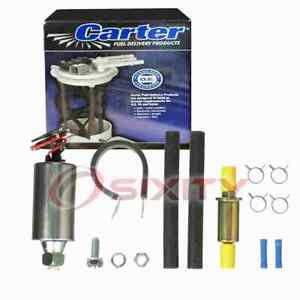 Carter In-Line Electric Fuel Pump for 1965-1968 Jeep J-2700 5.3L V8 Air bh