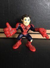 AMAZING SPIDER-MAN UNMASKED MOVIE Marvel Super Heroes Squad Action Figure 2006