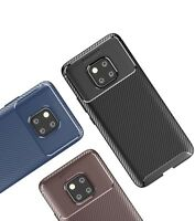 Huawei Mate 20 Pro Case Carbon Fibre TPU Silicone  Best Protection Cover Cases