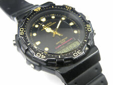 Gents Casio AQ-130W Digital Analog Divers Watch -100m