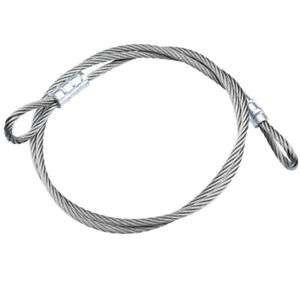 AU Stainless Steel Cable Wire Rope Sling Lifting Assemblies Fastened Eye Loops