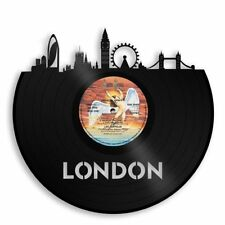 London Vinyl Wall Art City Skyline Personalized Anniversary Home Office Decor