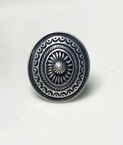 Native American Ring, Calvin Martinez size 7