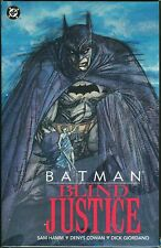 Batman Blind Justice Trade Paperback TPB Denys Cowan art Dark Knight 1st Print