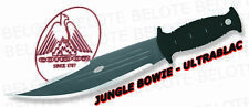 "Condor Tool & Knife Tactical Jungle Bowie 11"" Black Blade W/ Sheath 60207"