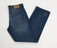 Calvin Klein jeans w32 46 dritti relaxed straight fit usato blu boyfriend T1706