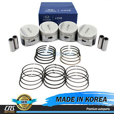 GENUINE Engine Piston w/ Rings for 05-10 Hyundai Kia 2.0L 2341023AA0 2304023300