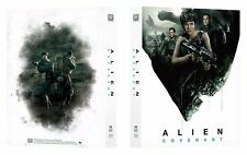 Alien Covenant Bluray Steelbook Manta Lab Exclusive #10 Full Slip