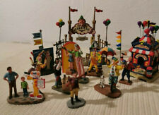 "Lemax lot ""clowns"" Carnival Collection"