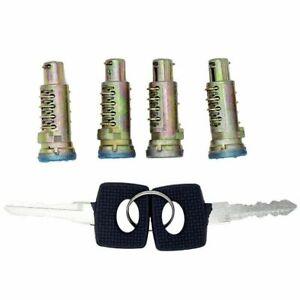 For MERCEDES SPRINTER VW LT 1995-2006 Door Lock Barrel Cylinder Set of 4 + Keys
