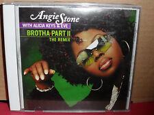 Angie Stone ALICIA KEYS & Eve - Brotha Part II The Remix PROMO CD Single Rare