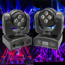 Double Sides RGBW 8x 15W LED Moving Head Stage Light DMX DJ Disco Party Lighting