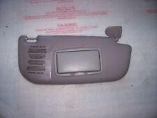 ALFA ROMEO 147 2003 Lato Destro Aletta Parasole Lato Driver UK finitura grigio chiaro