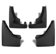 10-15 CADILLAC SRX MUD FLAPS SPLASH GUARDS MUDGUARD BLACK 4PCS FRONT+REAR COMBO