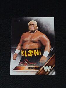 2016 Topps WWE Rikishi Legends Wrestling Card #85