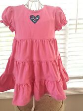 Hanna Andersson 80 Love to Twirl Lily Pink Dress 2T 18-24