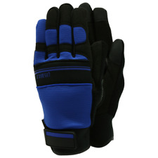 Town & Country Ultimax Gardening Gloves, Close Fit Comfort - Navy - Size Medium